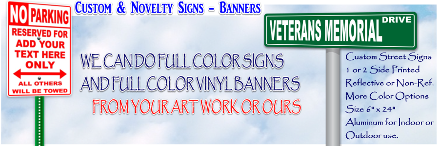 Signs / Banners