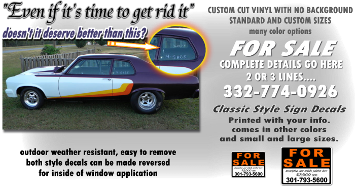 Custom Vinyl For Sale Decals - Custom boat decals   easy removal