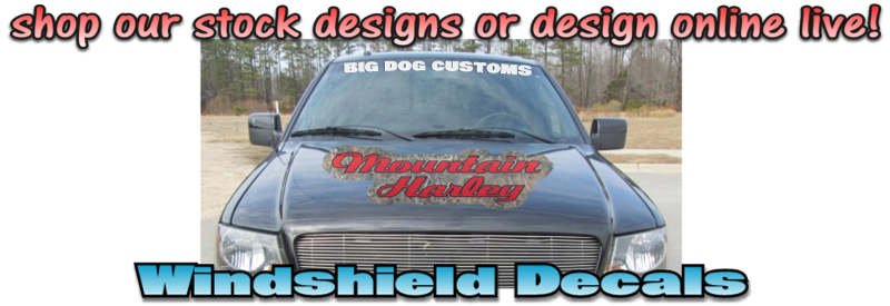 Windshield Decals
