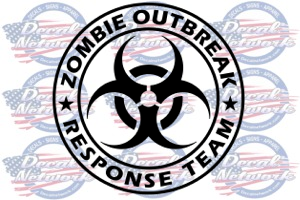 Zombie decals and Apparel