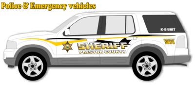 sheriff vehicle graphics