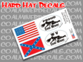 Hard Hat Decals Coal Miner