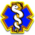 Star of Life Blue Yellow
