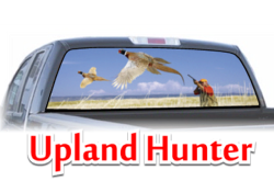 Upland Hunter View Thru Window Graphic