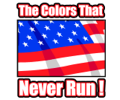The colors that never run