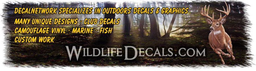 hunting vinyl decals outdoors graphics
