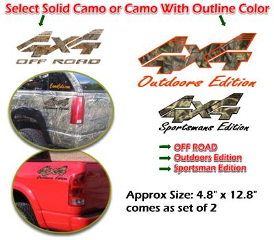 4x4 Camo Style 1