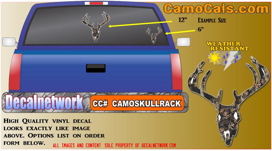 Camocals Skull Rack