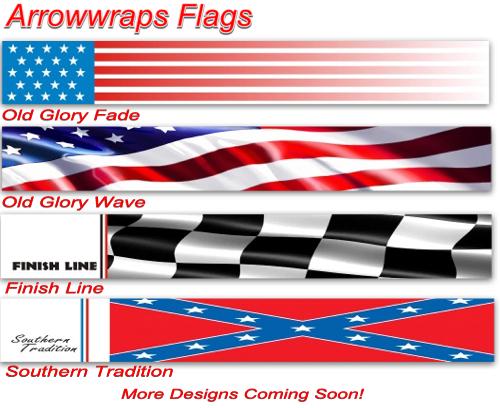 Arrow wraps Flag Design