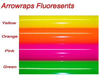 Arrow wraps Fluoresents