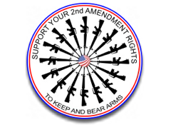 Circle AR guns right to bear arms
