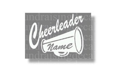 Personalized Cheerleader Megaphone