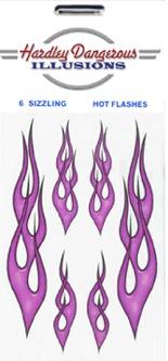 Purple Flames HD