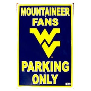 WV Parking Sign